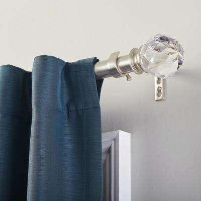 48 inch crystal curtain rod