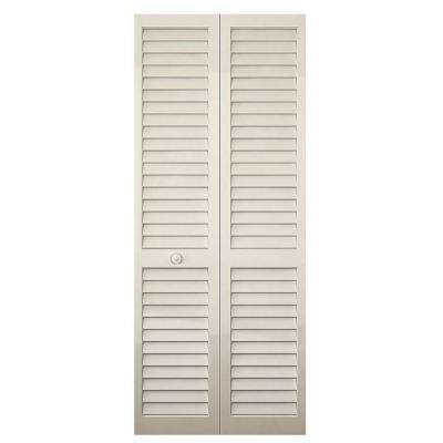 kitchen pantry doors home depot chrome faucets bifold interior closet the plantation louvered solid core painted wood bi fold door