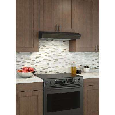kitchen hood vents grill black stainless steel range hoods appliances the home depot convertible under cabinet with light in