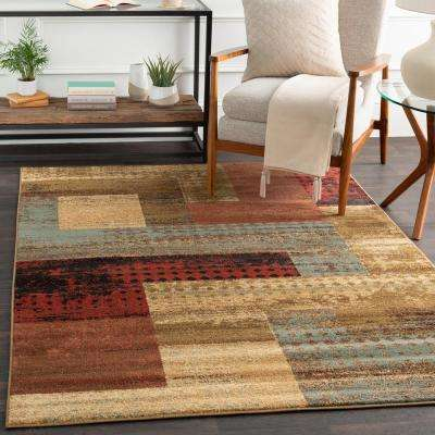 red rugs for living room modern farmhouse decor area the home depot kazuno