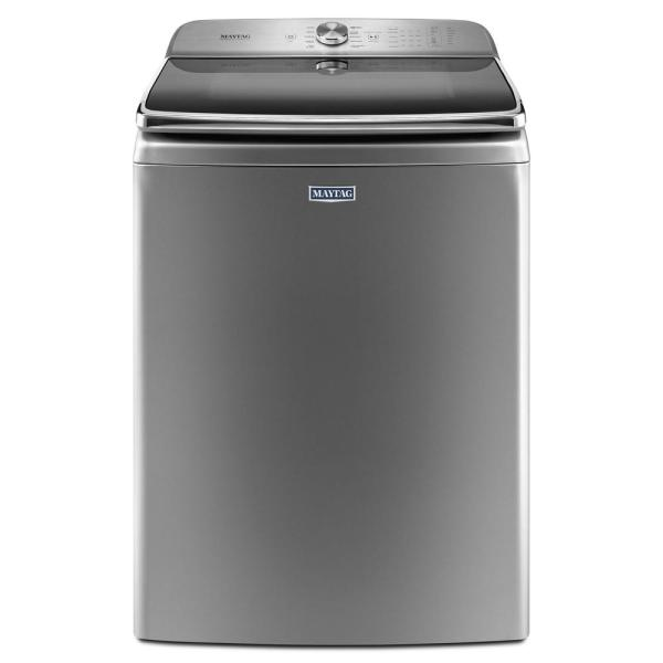 Maytag 6.0 Cu. Ft. Metallic Slate Top Load Washing Machine Energy Star-mvwb965hc - Home Depot