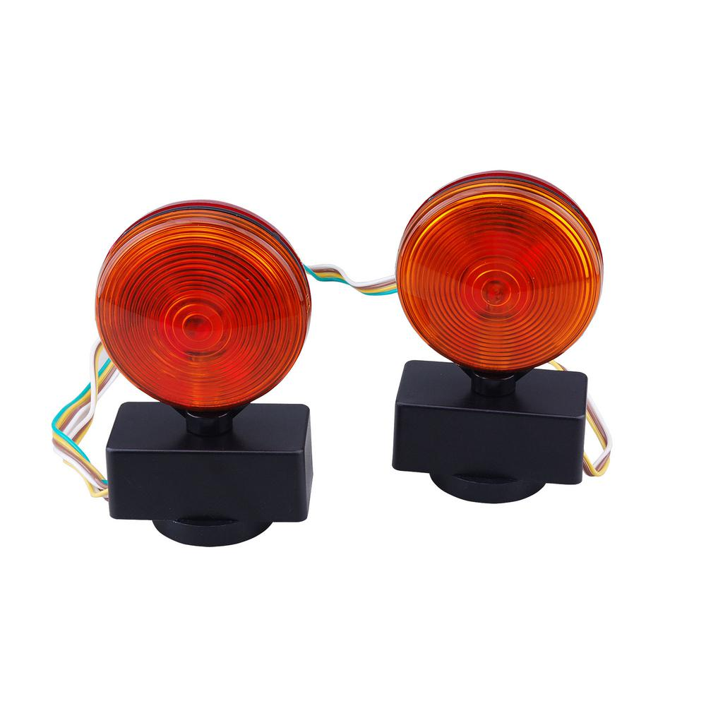 hight resolution of max load 12 volt magnetic towing light kit