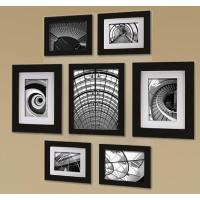 Pinnacle 7-Opening 8 in. x 10 in. Wall Collage Picture ...