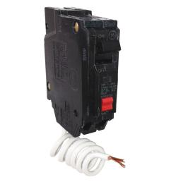 ge 20 amp single pole ground fault breaker with self test thql1120gftp the home depot [ 1000 x 1000 Pixel ]