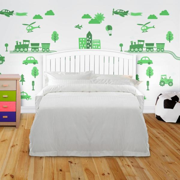 Fashion Bed Group Finley White Queen Wooden Headboard
