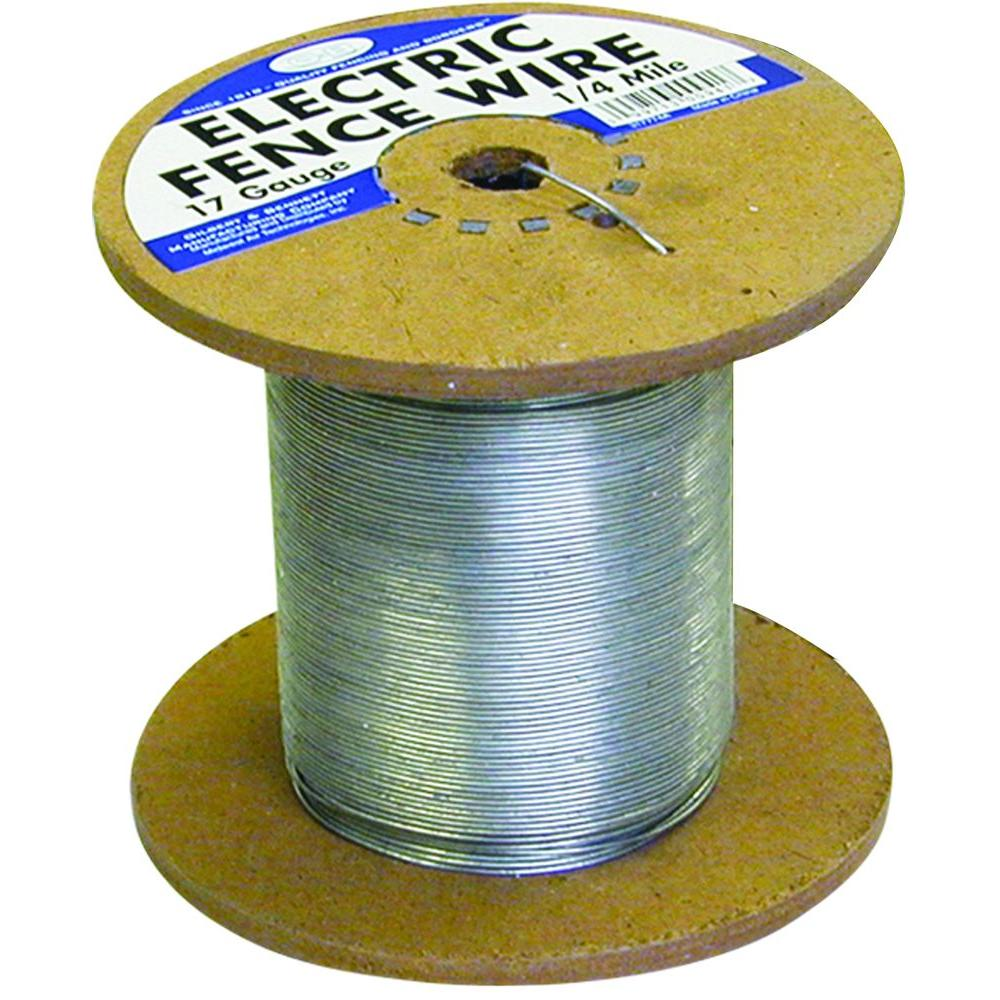 hight resolution of farmgard 1 4 mile 17 gauge galvanized electric fence wire