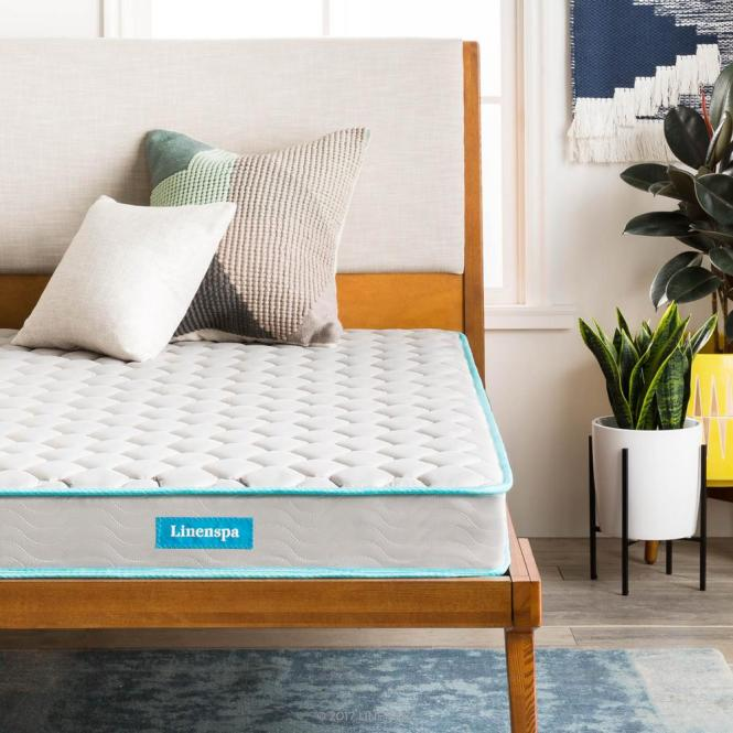 Linenspa 6 In Twin Innerspring Mattress