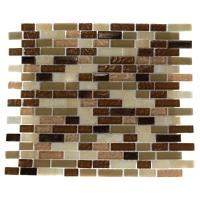Splashback Tile Southern Comfort Brick Pattern 12 in. x 12 ...