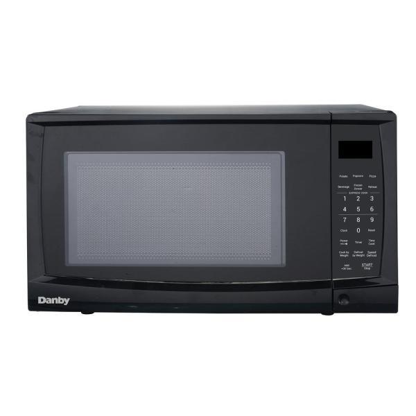 Danby 0.7 Cu. Ft. Countertop Microwave In Black-dmw07a4bdb - Home Depot