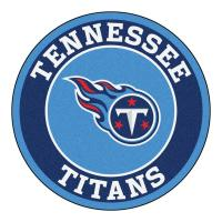 FANMATS NFL Tennessee Titans Navy 2 ft. x 2 ft. Round Area ...
