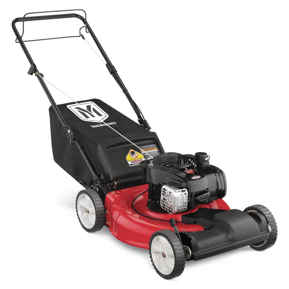 hight resolution of yard machines 21 in 140 cc ohv briggs and stratton walk behind gas self propelled