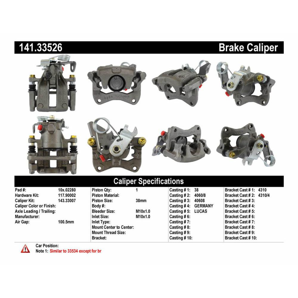 Audi Brake Caliper, Brake Caliper for Audi