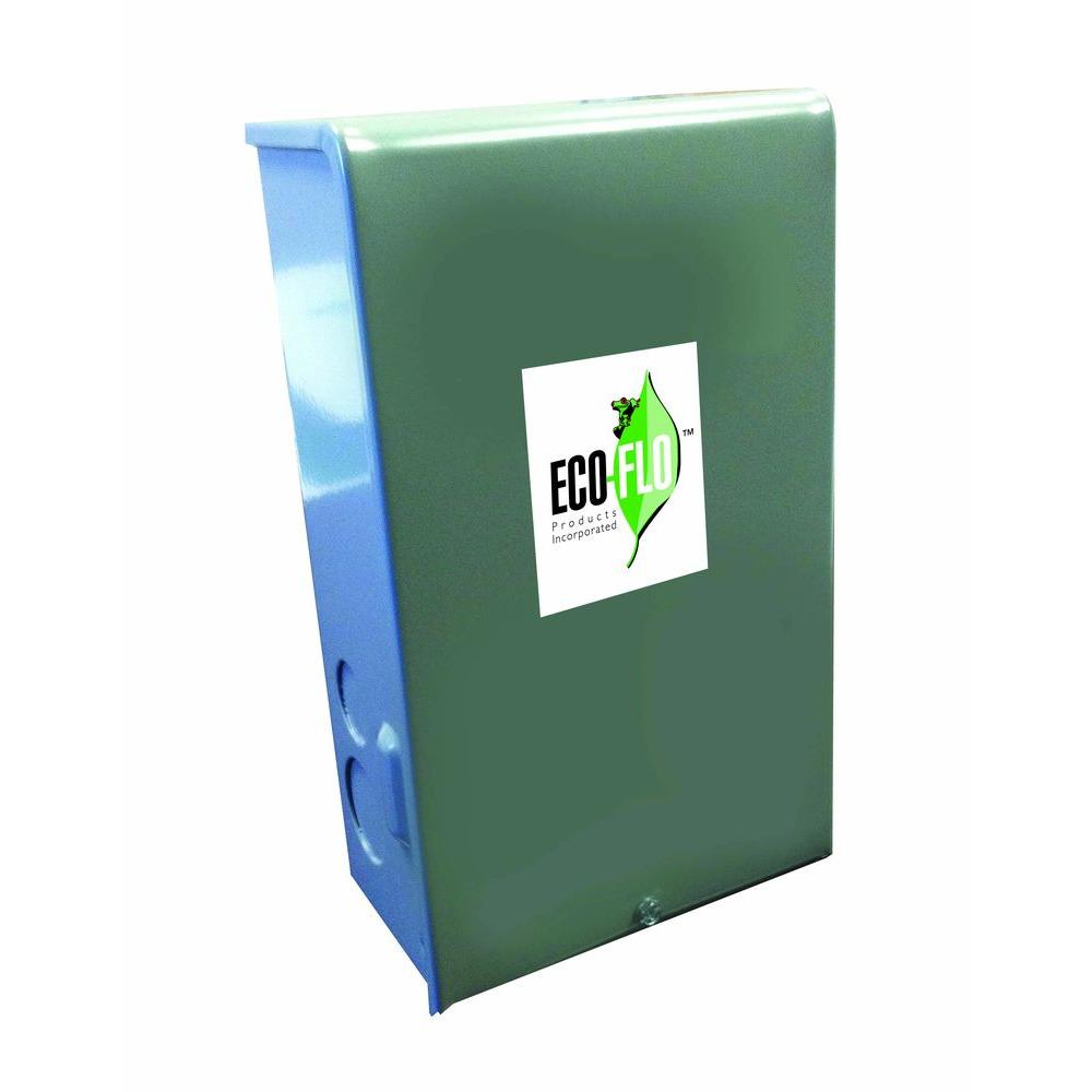 medium resolution of eco flo 1 hp control box for 4 in well pump