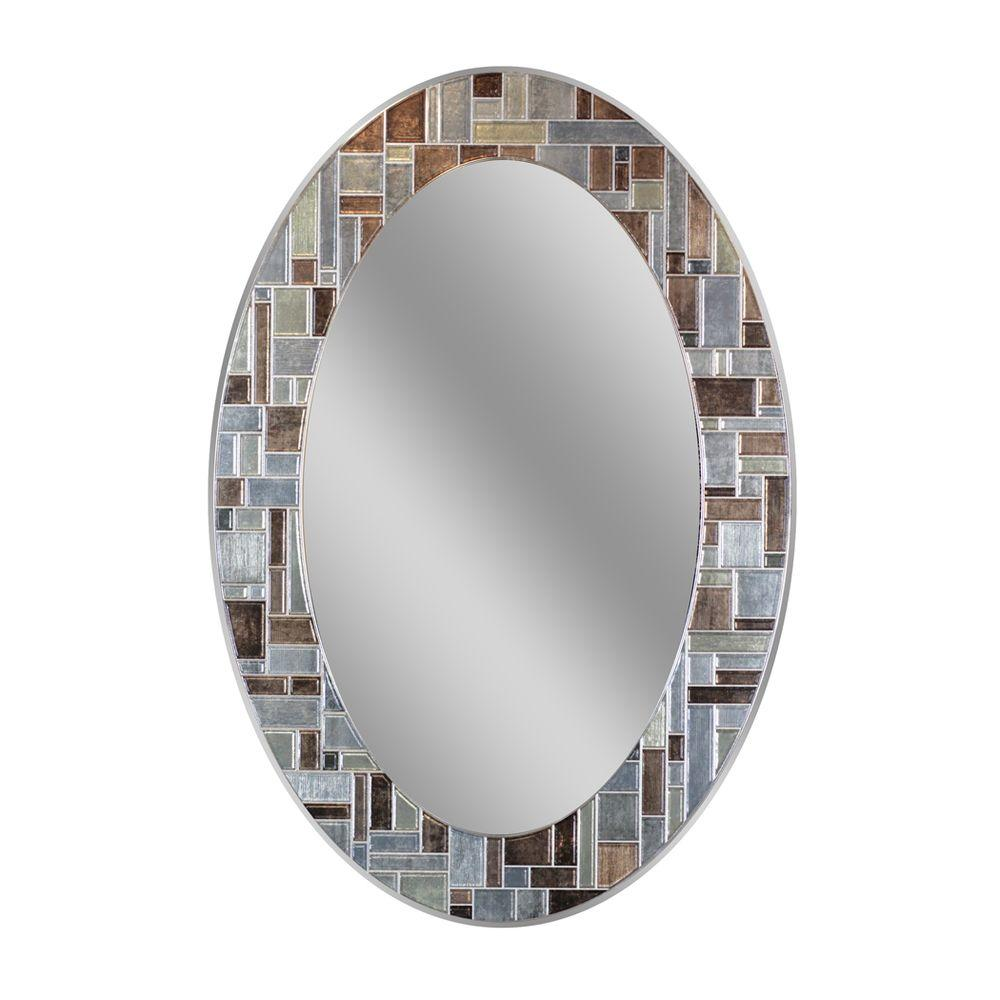 oval - bathroom mirrors - bath - the home depot