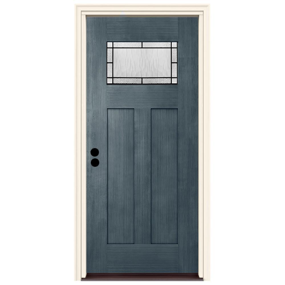 Hickory Gel Stain On Fiberglass Door