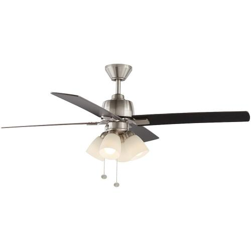 small resolution of hampton bay malone 54 in led brushed nickel ceiling fan with light bay ceiling fan light cover on hampton bay ceiling fans wiring