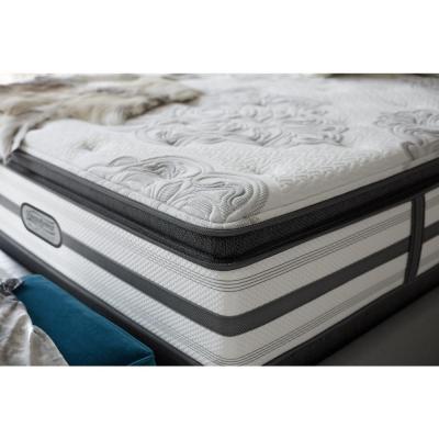 South Haven California King Size Plush Pillow Top Low Profile Mattress Set