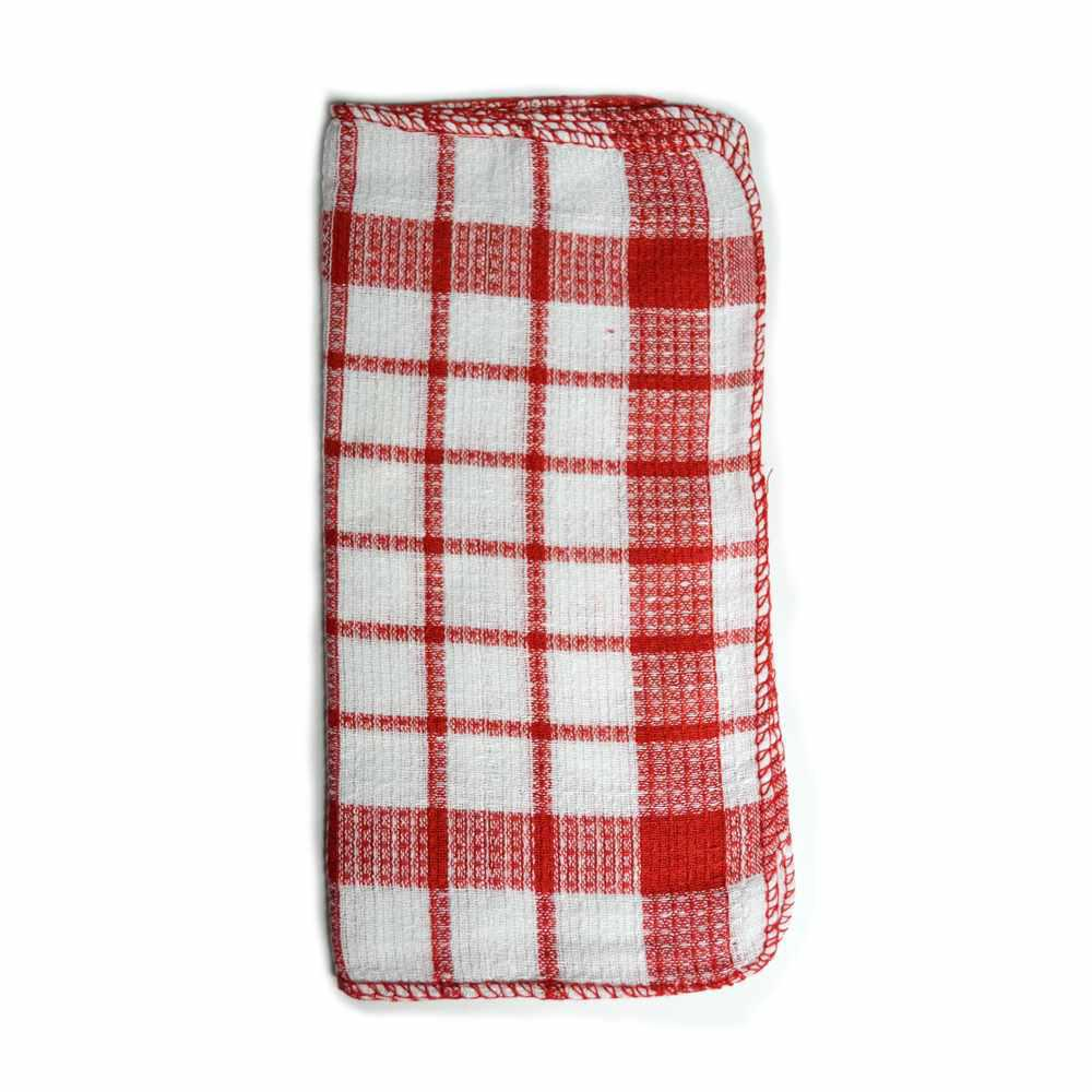HOME basics Utility Kitchen Towel Set in Red 17Piece