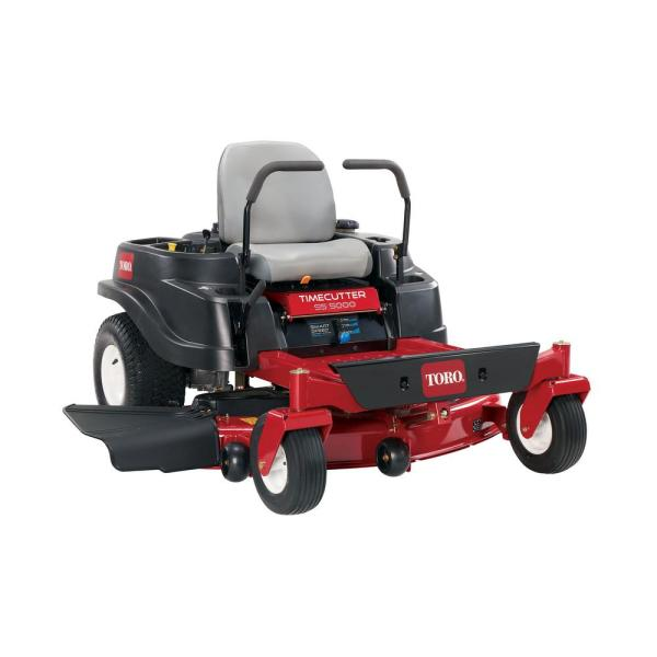 Toro Timecutter 50 In. 24.5 Hp -twin -turn Riding Mower With Smart Speed-74731 - Home Depot