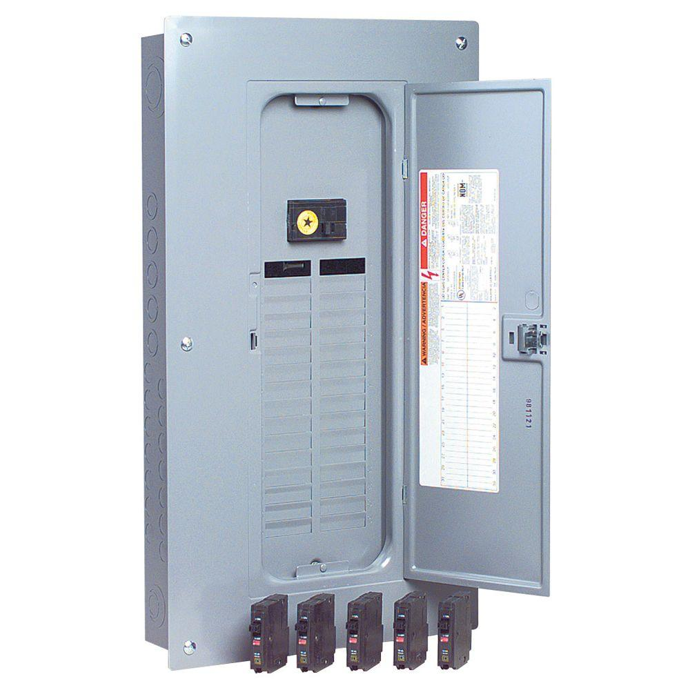 hight resolution of qo 100 amp 32 space 32 circuit indoor main breaker load center with cover