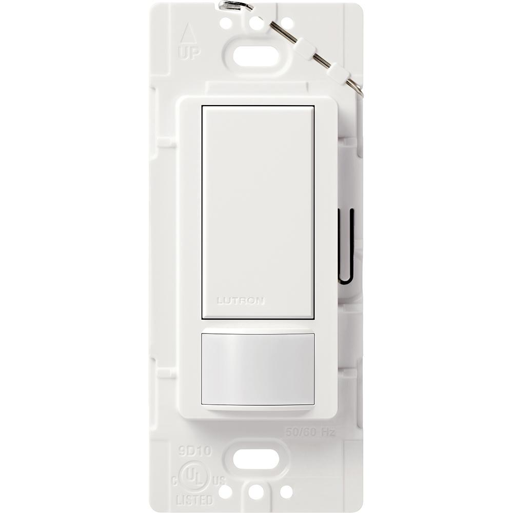 medium resolution of lutron maestro 2 amp single pole motion sensor switch white ms lutron single pole occupancy sensor wiring diagram