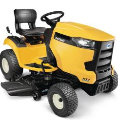 cub cadet xt1 enduro series lt 42 in 18 hp kohler hydrostatic gas front engine riding lawn tractor [ 1000 x 1000 Pixel ]