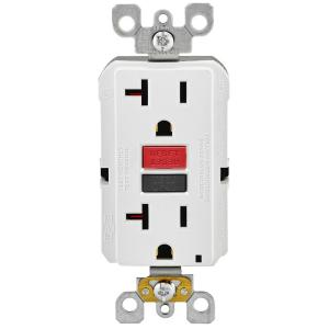 gfci outlet with switch wiring diagram for a 3 way dimmer leviton 15 amp self test smartlockpro slim duplex white 20