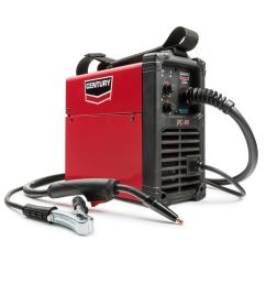 century 90 amp fc90 flux core wire feed welder and gun 120v k3493 1 the home depot [ 1000 x 1000 Pixel ]