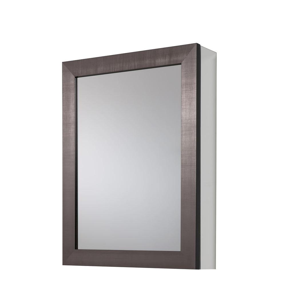 Glacier Bay 20 in. x 26 in Framed Aluminum Recessed or