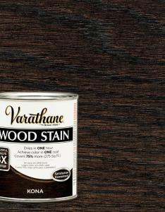 Varathane qt kona premium fast dry interior wood stain also rh homedepot