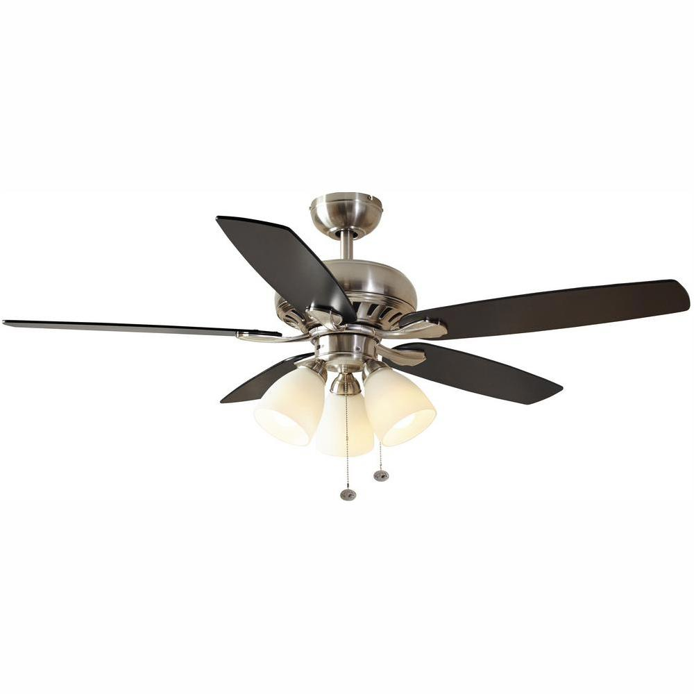 hight resolution of hampton bay rockport 52 in led brushed nickel ceiling fan with hampton bay rockport wiring diagram