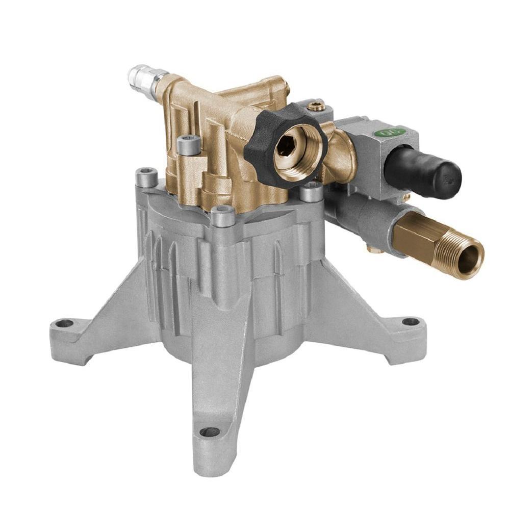 PowerFit Vertical Brass 3100 PSI Maximum Pressure Washer Pump AUN31099 The Home Depot