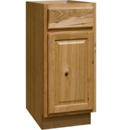 hampton assembled 15x34 5x24 in base kitchen cabinet with ball bearing drawer [ 1000 x 1000 Pixel ]