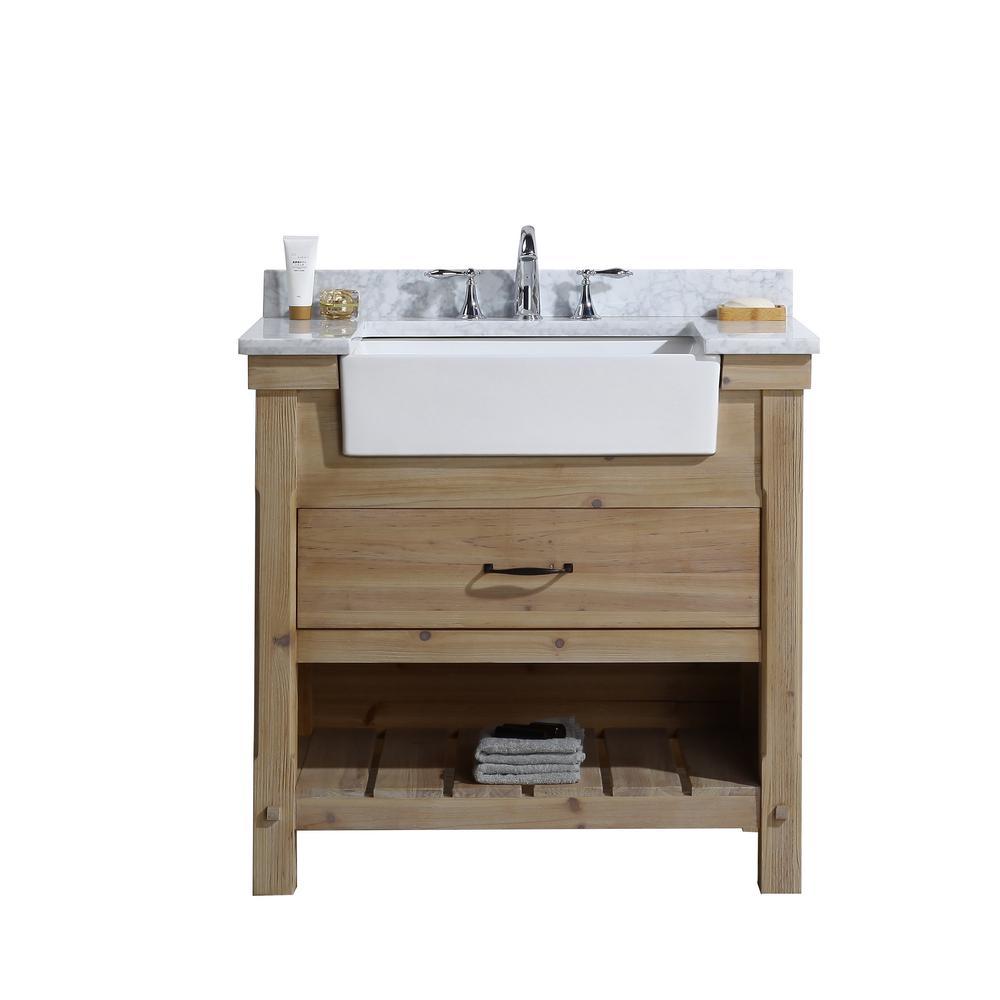 Farmhouse Bathroom Vanity Single Sink