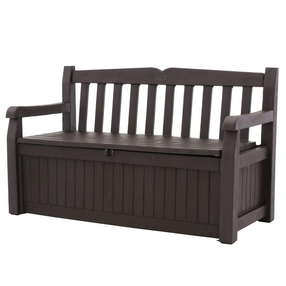 Keter Eden 70 Gal. Outdoor Garden Patio Deck Box Storage