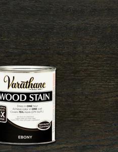 Varathane qt ebony premium fast dry interior wood stain pack also rh homedepot