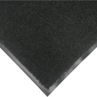 Rubber-Cal Tuff Plush Black 3 ft. x 10 ft. Polypropylene ...