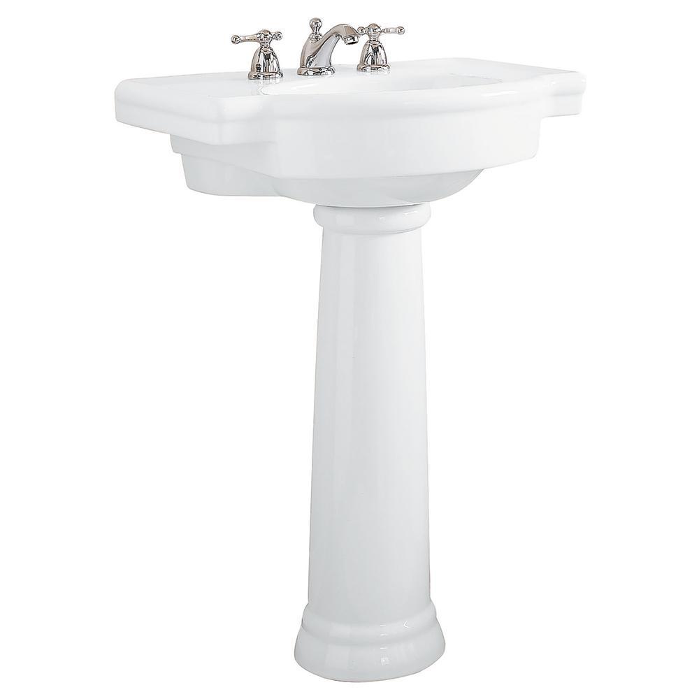 American Standard Retrospect Pedestal Combo Bathroom Sink