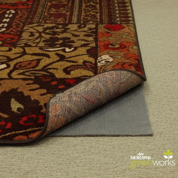 Mohawk Home 6 Ft. X 9 Supreme Dual Surface Felted Rug Pad-329648 - Depot
