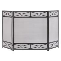 Pleasant Hearth Sheffield 3-Panel Fireplace Screen in ...