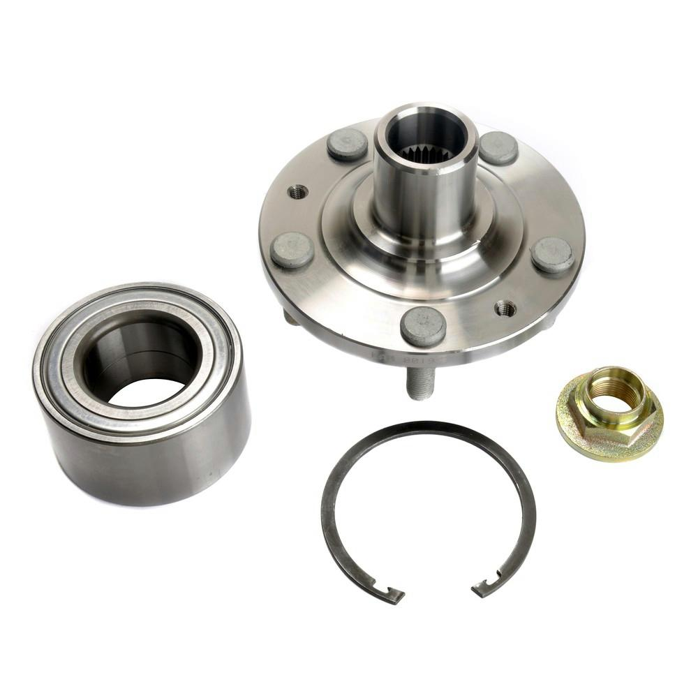 medium resolution of front wheel bearing and hub assembly fits 2006 2011 mercury milan
