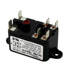 white rodgers 24 volt coil voltage spno spnc rbm type relay [ 1000 x 1000 Pixel ]
