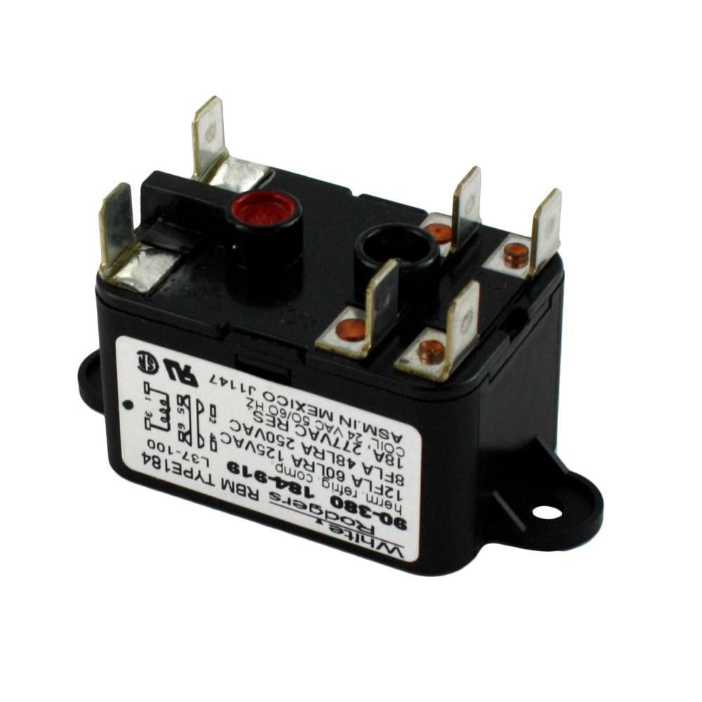 hight resolution of white rodgers 24 volt coil voltage spno spnc rbm type relay