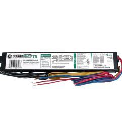ge 347 to 480 volt ultrastart electronic program rapid start ballast for t5 fixture [ 1000 x 1000 Pixel ]