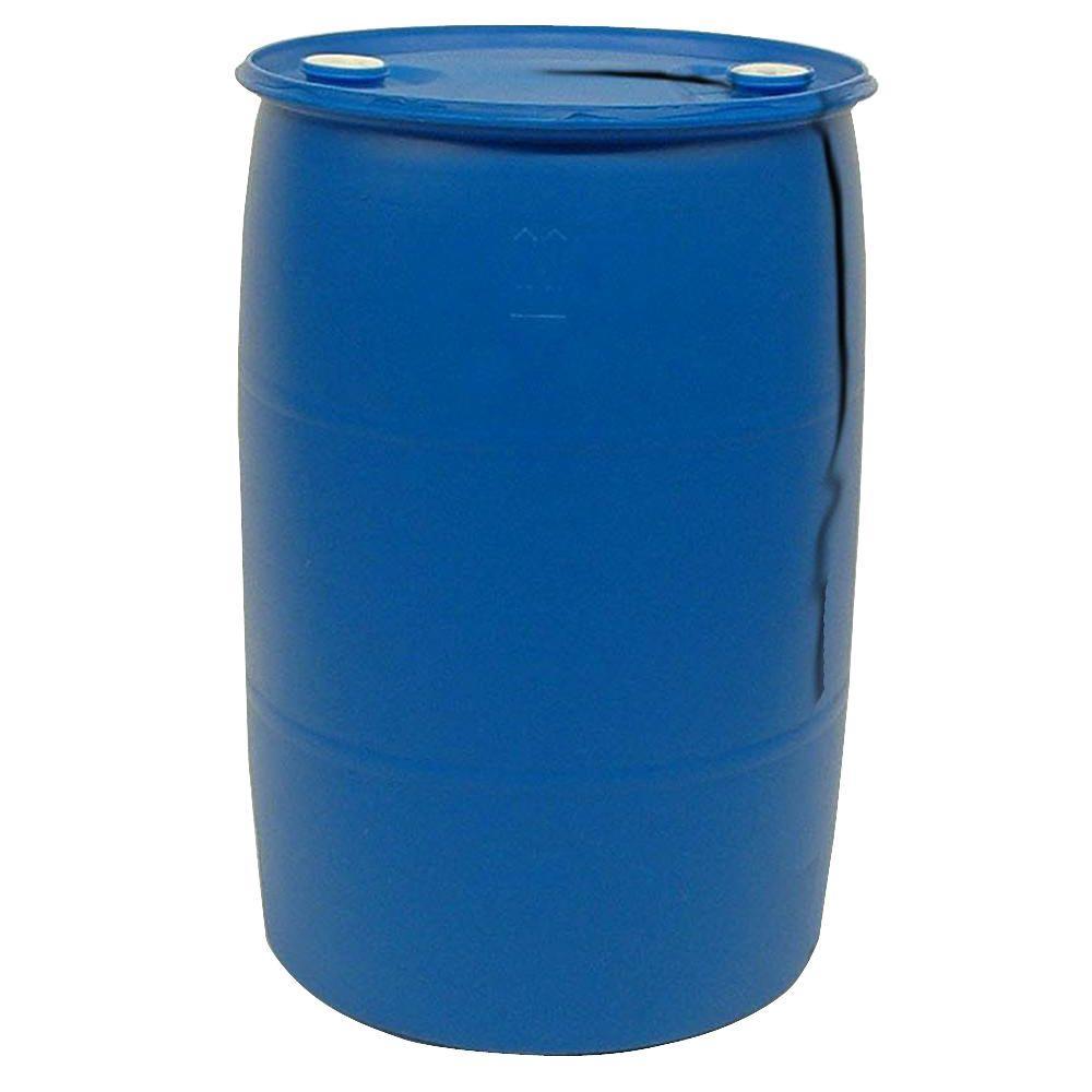 55 gal blue industrial