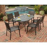 Home Styles Stone Harbor 7-Piece Slate Tile Top ...
