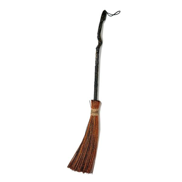 Worth Imports 35 in. Witch Broom Halloween Prop (Set of 2