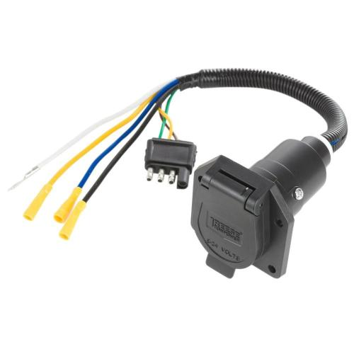 small resolution of reese towpower pre wired 7 way blade connector 7418411 reese trailer brake wiring reese 4 wire