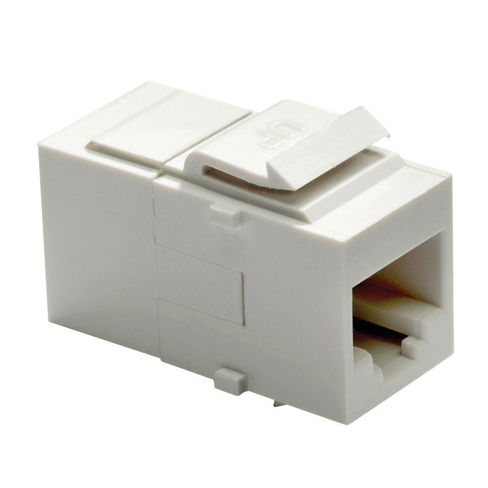 medium resolution of  white legrand adorne wall jacks ac5erj45w1 64 1000 legrand adorne keystone category 5e rj45 connector white legrand
