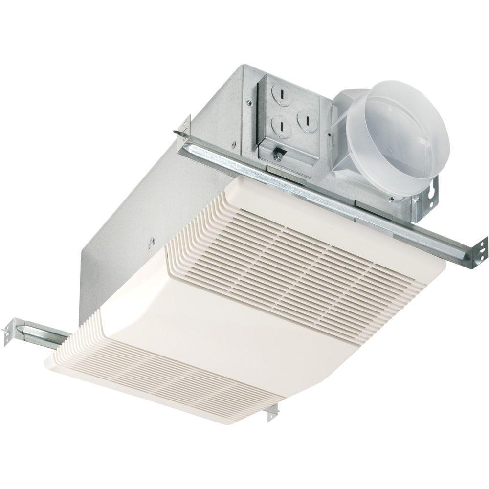 nutone heat-a-vent 70 cfm ceiling exhaust fan with 1300-watt